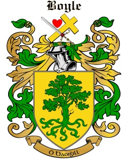 O'BOYLE family crest
