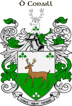 MCCONNELL family crest