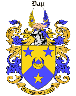 DAY family crest