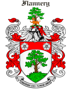 FLANNERY family crest