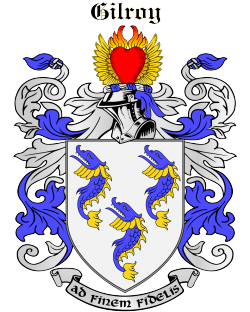 GILROY family crest