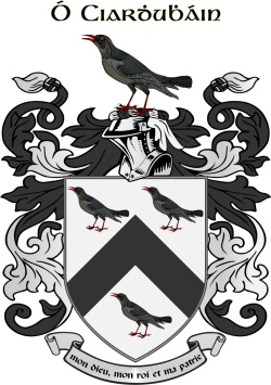 KIRWAN family crest
