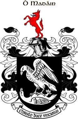 MADDEN family crest