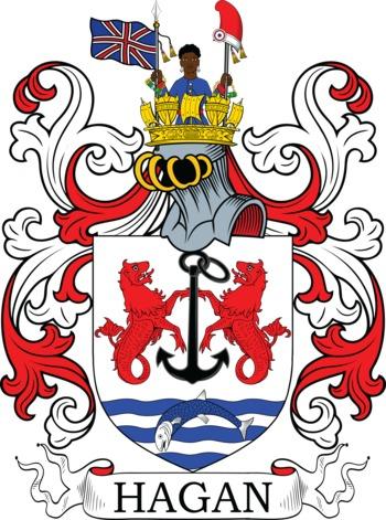 HAGAN family crest