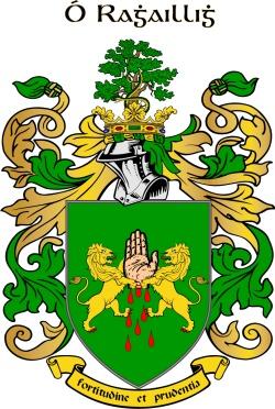 OREILLY family crest
