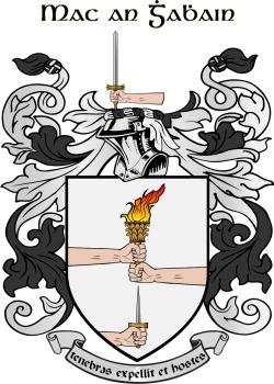 SMYTH family crest