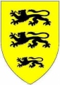 Shield of the Norman Welsh Carew family
